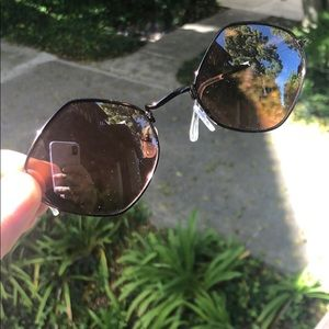 Free people unique sun glasses